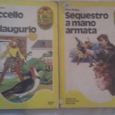 LOT 2 CARTI IN LIMBA ITALIANA - Carte Literatura Italiana