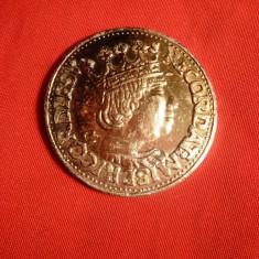 Monede Straine, Europa - Copie din Al a unei monede vechi de argint - Ferdinand