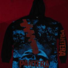 Hanorac Pantera - Far Beyond driven, total print, marimea XL - Hanorac barbati, Culoare: Negru
