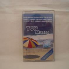 Vand caseta audio Top Music, selectie romaneasca, originala - Muzica Pop nova music, Casete audio