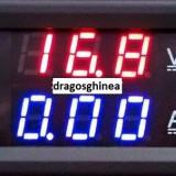 Voltmetru si ampermetru rosu si albastru DC 0 - 100V 10A + Shunt 10A