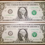 Bancnota Straine - Bancnota - Statele Unite ale Americii - 1 Dollar 2003 - L - San Francisco, California