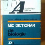 Carte Biologie - N5 Teofil Craciun, Virginia Craciun - Mic dictionar de biologie