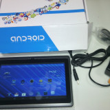 Tableta Android 1.5Gz 7 inch (18cm) Produs Nou Sigilat Negru