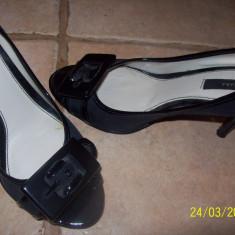 Pantof elegant zara - Pantof dama Zara, Marime: 36, Culoare: Negru, Nero