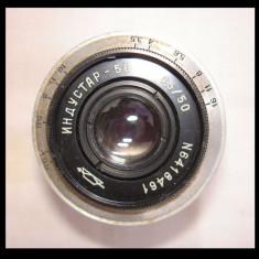 Obiectiv industar 50 3, 5/50 filet 39 mm - Obiective RF (RangeFinder)