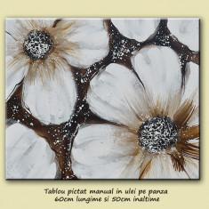Flori moderne 6 - tablou 60x50cm, LIVRARE GRATUITA 24-48h