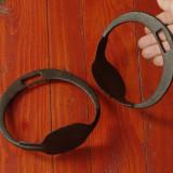 Set 2 bucati - pereche scarita din metal pentru sa de cal - realizate manual la forja si nicovala - Metal/Fonta