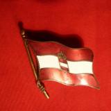 Insigna Marinei Militare Austro Ungare - Primul Razboi Mondial, -F.Rara !