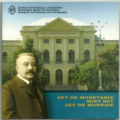 ROMANIA SET MONETARIE 2008, 100 ani inaugurarea muz GRIGORE ANTIPA, nr. BNR 272 - Moneda Romania