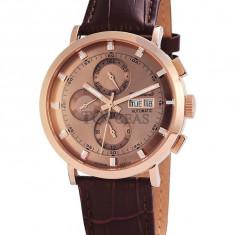 Ceas de lux Engelhardt Edgar Rose Gold, original, nou, cu factura si garantie! - Ceas barbatesc Engelhardt, Mecanic-Automatic