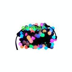 Ghirlanda cu bule colorate, cu LED/6622 - Ornamente Craciun