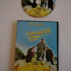 Febra aurului - Eric Bana - film DVD - Film comedie, Romana