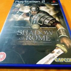 Joc Shadow of Rome, PS2, original, 24.99 lei(gamestore)! Alte sute de jocuri! - Jocuri PS2 Capcom, Actiune, 16+, Single player