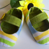 Papucei bebe handmade - Papuci copii, Fete