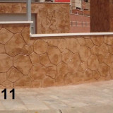 Beton amprentat - Ciment