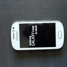 Telefon mobil Samsung Galaxy Fame, Albastru - Samsung GALAXY Fame GT-S6810P White