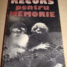 Roman - RECURS PENTRU MEMORIE - Elena Gronov - Marinescu