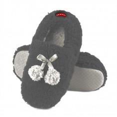 Papuci dama - Papuci de casa - art 63706 - gri