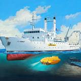 Macheta vapor Revell Titanic Searcher Le Suroît - RV5131