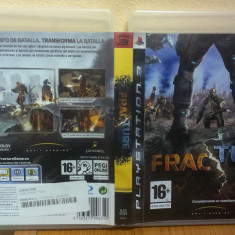Fracture (PS3) (ALVio) + sute de jocuri PS3 (VAND / SCHIMB), Actiune, 16+
