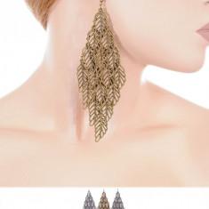 Cercei Fashion - Cercei Lungi in Forma de Romb