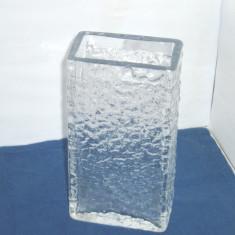 Vaza colectie semicristal - Aquarium - design Jiri Brabec 1968, Rudolfova Cehia - Vaza sticla
