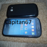 Husa Silicon Samsung Galaxy trend lite  s7390 Negru