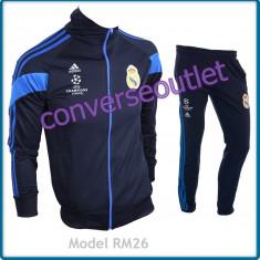 Trening barbati - Trening ADIDAS REAL MADRID -Bluza si pantaloni conici - LIVRARE GRATUITA
