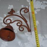 Deosebit clopot de poarta cu fluturas - Metal/Fonta, Sonerii