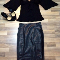 Bluza dama Zara, Maneca 3/4 - Bluza Zara, S, noua, mohair