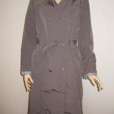 Trench coat, trench, trenci dama, pardesiu impermeabil griege Street One, masura 38 sau S/M - Trench dama, Marime: S, Culoare: Maro