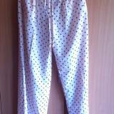 Pantaloni dama, Lungi, Roz, Marime: 40 - Pantaloni Palazzo