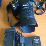 Nikon d40 + obiectiv nikon 18 - 105mm