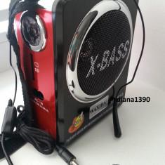 Radio Boxa portabila Alta Waxiba MP3 player redare stick USB si card SD + Lanterna