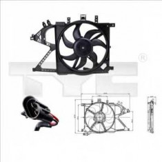 Ventilatoare auto - Ventilator, radiator OPEL VITA C 1.0 - TYC 825-0008
