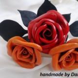 Trandafiri din piele naturala cadoul ideal