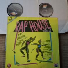 Rap House Volume 3 HIP HOP muzica hip hop HOUSE 2 LP disc VINYL DUBLU 1990 vest, VINIL