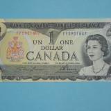 Bancnota Straine, America de Nord, An: 1973 - Canada 1 Dollar 1973 XF