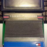 Portofel TOMMY HILFIGER - Model EXETER Black, 100% ORIGINAL, cadoul ideal - Portofel Barbati Tommy Hilfiger, Negru, Clasic