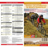 Schubert & Franzke Harta Trasee Cicloturistice in Muntii Banatului MB02