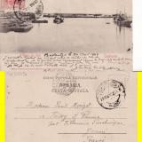 Carte Postala - Constanta- Vedere din port - vapoare- clasica, rara