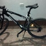Mountain Bike, 21 inch, 26 inch, Numar viteze: 24, Aluminiu, Negru - Vand bicicleta Rockrider 5.2 achizitionata 2012