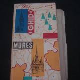 JUDETUL MURES - GHID TURISTIC * CU 10 HARTI