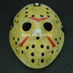 Masca hockey Jason Voorhees Freddy Krueger Halloween costum party cosplay +CADOU - Masca carnaval, Marime: Marime universala, Culoare: Din imagine