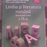 Manual Clasa a IX-a, Romana, Art - Limba si literatura romana cls. a IX-a