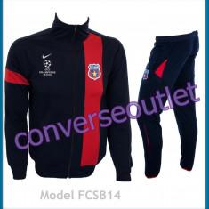 Trening barbati - Trening NIKE - FC STEAUA BUCURESTI - Bluza si pantaloni conici LIVRARE GRATUITA