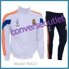 Trening ADIDAS REAL MADRID - Bluza si pantaloni conici - Modele noi Pret Special - Trening barbati, Marime: S, M, XL, Culoare: Din imagine