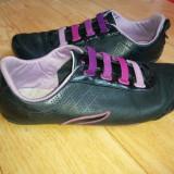 Pantofi din piele firma Lacoste marimea 38, arata impecabil! - Pantofi dama Lacoste, Marime: 38, Negru
