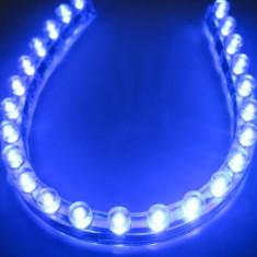 BANDA FLEXIBILA CU LEDURI ALBE, 24CM - leduri albe: 24 buc - flexibila si rezistenta la apa - Inchidere centralizata Auto